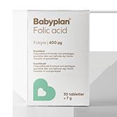 Folsyre til gravide