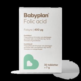 Babyplan folsyre