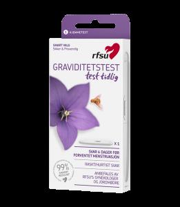 RFSU graviditetstest test tidlig