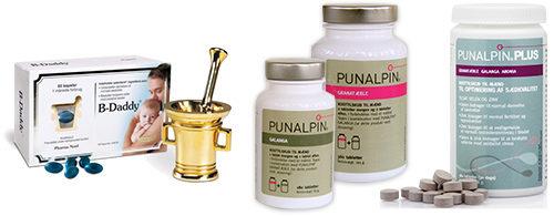 Punalpin - Kosttilskudd for menn